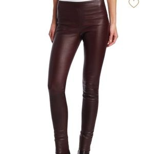 Helmut Lang stretch lambskin leggings